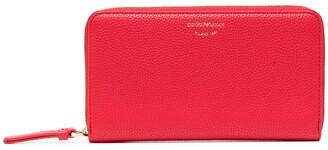 Emporio Armani Logo Zipped Continental Wallet