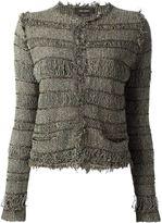 Isabel Marant frayed stripe cardigan