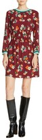 Maje Women's Floral Print A-Line Dress