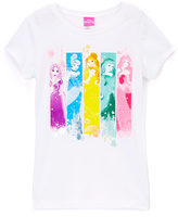 Jerry Leigh White Disney Princess Story Tee - Girls