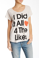 Junk Food Clothing All 4 The Likes Graphic Tee