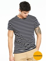 Selected Organic Cotton Oversized Striped Tshirt