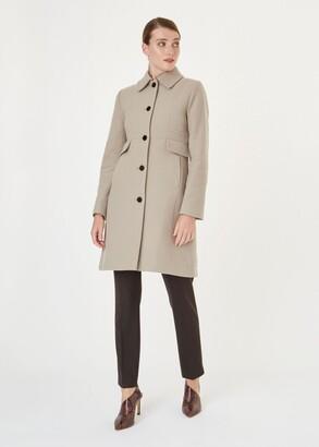 Hobbs Eris Wool Blend Coat