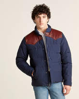 Penfield Leather Contrast Puffer Down Jacket