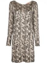 Altuzarra Fayette snake-print dress