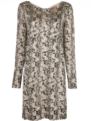 Altuzarra Fayette snake-print dress