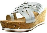 Donald J Pliner Flore Platform Wedge Sandals.