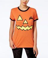 Mighty Fine Juniors' Halloween Graphic T-Shirt
