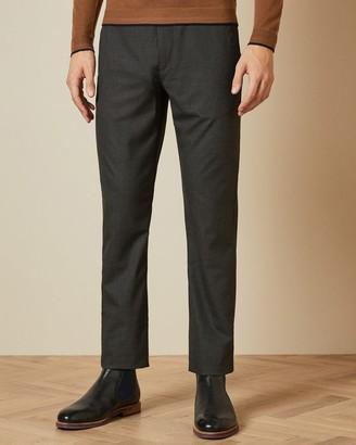 Ted Baker Slim Fit Semi Plain Trousers