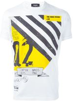 DSQUARED2 'Final Issue' print T-shirt