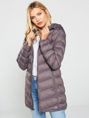 Trespass Rianna Long Padded Jacket - Heather