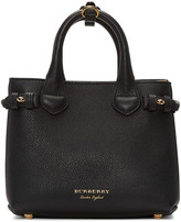 Burberry Black Baby Banner Tote
