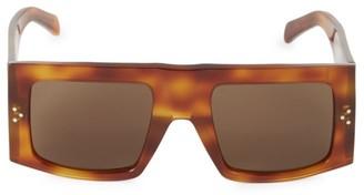 Celine 51MM Square Shield Sunglasses