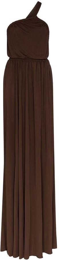 Matteau One-Shoulder Maxi Dress