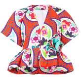 DELPOZO peplum short-sleeve jacket