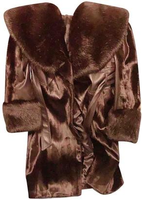 Karen Millen Black Faux fur Coat for Women