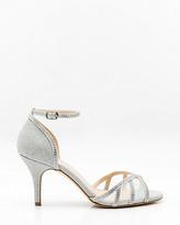 Le Château Jewel & Mesh Ankle Strap Sandal