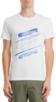 STUDIO W Diagonal Paint T-Shirt