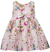 Bonnie Jean Floral - Baby Girls Sleeveless Floral A-Line Dress, 3-6 Months , Pink