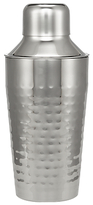 John Lewis Hammered Stainless Steel Cocktail Shaker