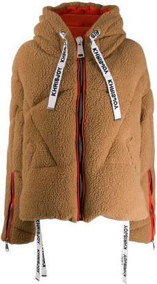 Khrisjoy faux shearling puffer jacket