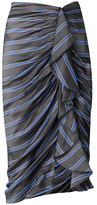 Veronica Beard Drew Ruffle Pencil Skirt