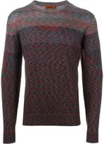 Missoni crew neck jumper - men - Nylon/Wool - 48