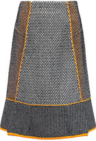 Roland Mouret Hewer Honeycomb-Knit Skirt