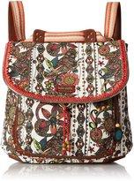 Sakroots Artist Circle Convertible Fashion Backpack