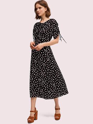 Kate Spade Mallow Dot Midi Dress