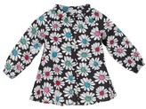 Margherita Infant Girl's Floral Print Pleated Shirt