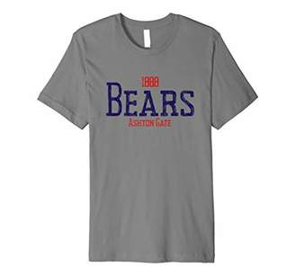 Bristol Rugby Shirt Bears Fans Jersey Gift Top T-Shirt