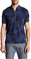 Report Collection Short Sleeve Floral Print Polo