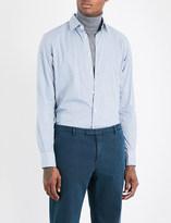 SLOWEAR Kurt regular-fit floral-print cotton shirt