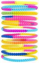Forever 21 Tie-Dye Twisted Bracelet Set