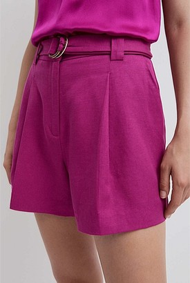 Witchery Pleat Front Short