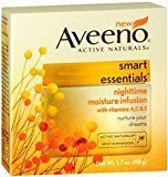 Aveeno Active Naturals Smart Essentials Nighttime Moisture Infusion 1.70 oz (Pack of 10)