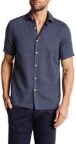 Toscano Short Sleeve Regular Fit Print Shirt