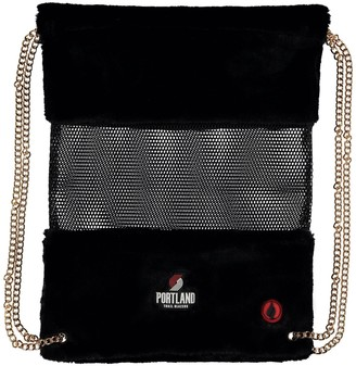 Portland Trail Blazers Mesh Gold Chain Drawstring Bag