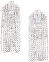 Venna crystal fringe earrings