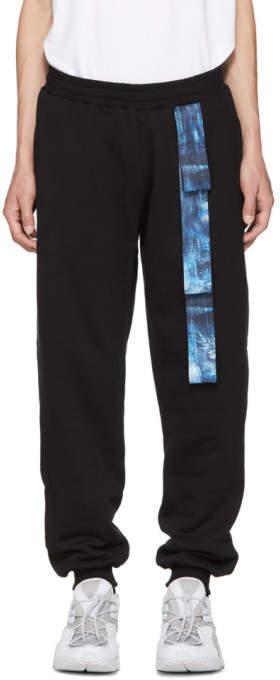 Cottweiler Black Harness Lounge Pants