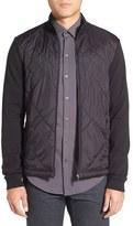 BOSS Men's 'Shepherd' Diamond Quilted Jacket