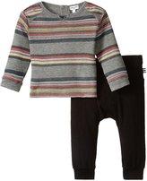 Splendid Wide Stripe Set (Baby) - Stripe - 6-12 - 6-12 Months