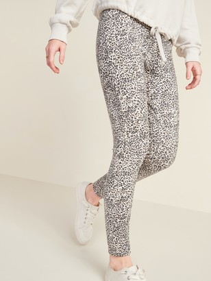Old Navy High-Waisted Stevie Ponte-Knit Printed Pants