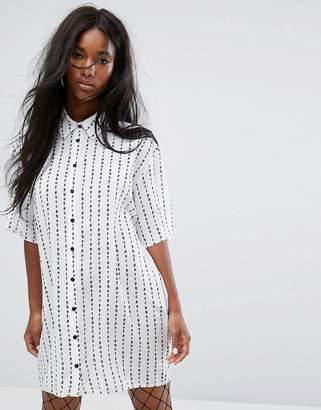 The Ragged Priest Not Sorry Shirt Dress