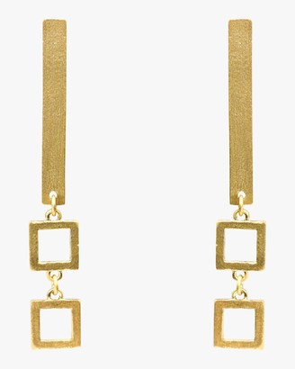 Stephanie Kantis Frame Earrings