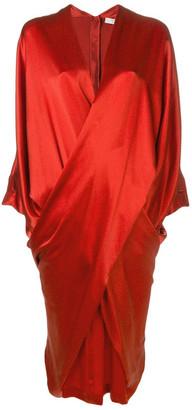Poiret Crossed Draped Dress