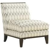Lexington MacArthur Park Slipper Chair Fabric: Beige Rayon/Viscose