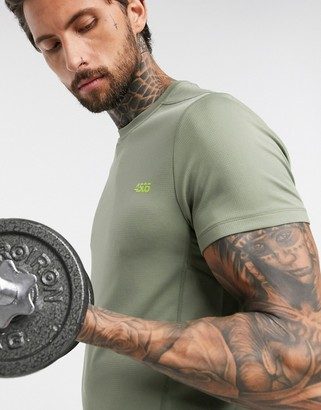 Asos 4505 icon training t-shirt with quick dry in green