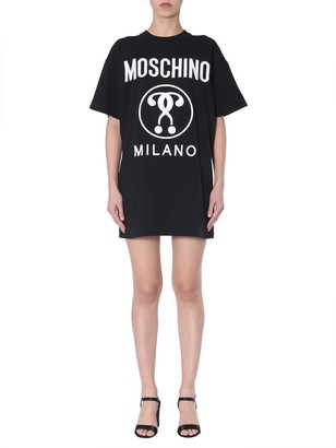 Moschino T-shirt Dress With Logo